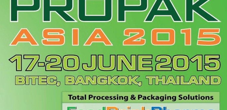 VISIT US AT PROPAX ASIA 2015  , June 17-20, 2015  AT Bitec Bangna, Hall 6,  BOOTH B604