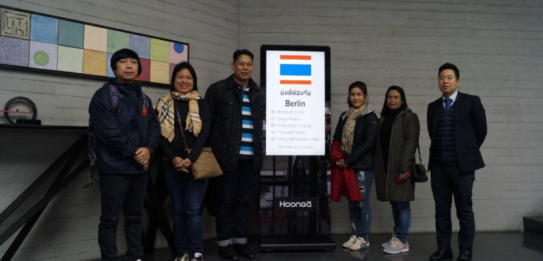Berlin Pharmaceutical Co.,Ltd went to South Korea (HoongA Corporation) for FAT from December 19-22, 2018