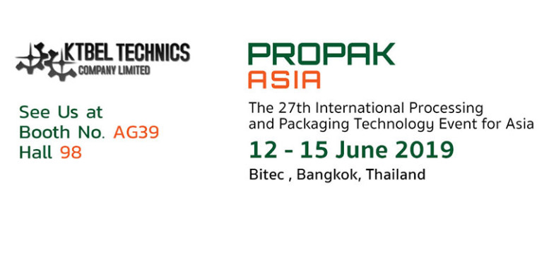 Propak Asia : See Us at  Booth No. AG39 Hall 98