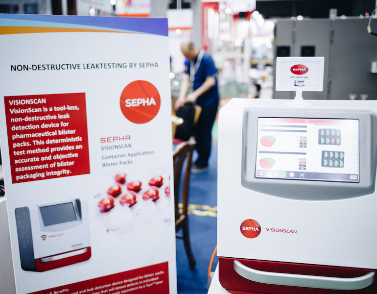 PROPAK 2019: SEPHA machines